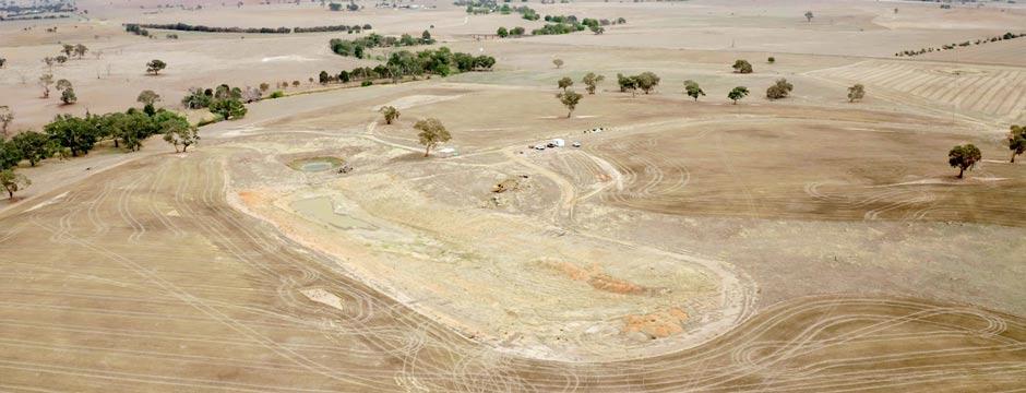 Boorowa dam CSIRO project agriculture earth construction